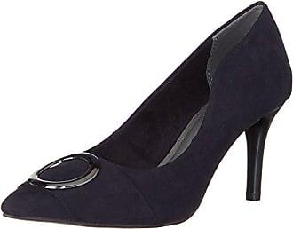 CarvelaGreatest - Zapatos de Tacón Mujer, Azul (Navy) 3 UK 36EU