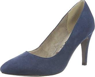22416, Escarpins Femme, Bleu (Navy Patent 826), 36 EUTamaris