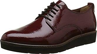 Hotter Rosée, Oxford Chaussures Lacées Pour Les Femmes, Rouge (rouge Tango 080), 38 Eu