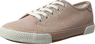 23606, Sneakers Basses Femme - Rose (Rose Metallic 952), 36 EUTamaris
