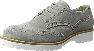 Chilli_282102, Brogues Femme, Gris (Stahl 18), 40.5 EUThink