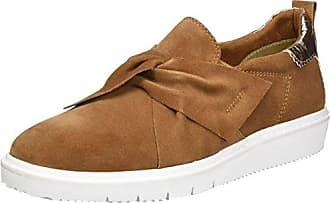 Schuhe 1-1-24205-28 bequeme Damen Slipper, Slip On, Halbschuhe, Sommerschuhe für modebewusste Frau, braun (Antelope) Tamaris