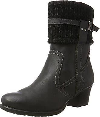 25909 - Botas Altas para Mujer, Color Negro (Black 001), Talla 41 EU Tamaris