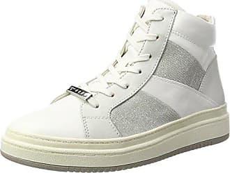 25220, Sneakers Hautes Femme - Beige (Pepper/Gold 396), 39 EUTamaris
