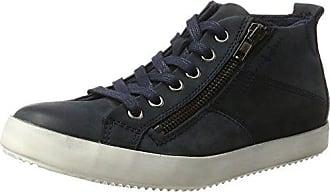25295, Sneakers Hautes Femme, Marron (Pepper 324), 39 EUTamaris
