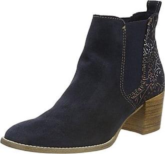Lotus Brianza, Chelsea Boots Femme, Bleu (Navy/Shiny NVY LTH), 41 EU
