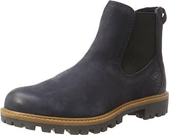 Tamaris Gummistiefel, im Chelsea-Boots Style, blau, EURO-Größen, navy