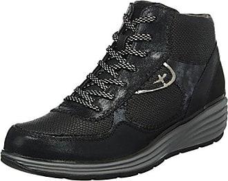 25403, Damen Hohe Sneakers, Schwarz (Black Comb 098), 41 EU Tamaris