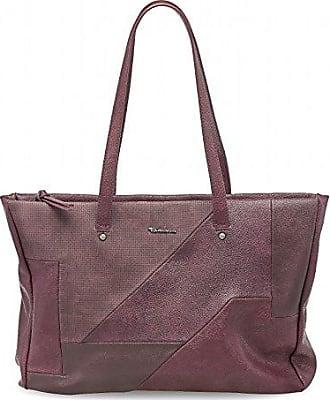 Oana Shopper A-1-160-63-303, Damen Shopper, Rot (red comb 597), 38x24x13 cm (B x H x T) Tamaris