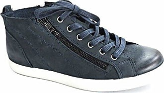 Damen High-Top Sneaker Blau, Schuhgröße:EUR 38 Tamaris