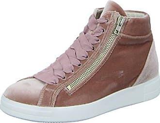 Tamaris Sneaker, im angesagten Metallic-Look, rosa, 41 41