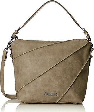 CARLA Hobo Bag Damen 2263172-367 elegante Umhängetasche in Graphite Comb Tamaris xcgYFbWHQp