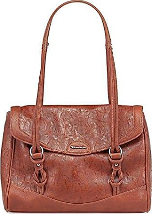 PENELOPE Doctors Bag A12902443, Damen Henkeltaschen, Braun (nut/mocca 443), 36x28x13 cm (B x H x T) Tamaris