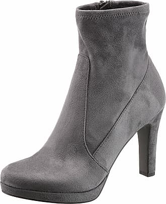 High-Heel-Stiefelette, im femininen Look, rot, EURO-Größen, dunkelrot+rot Tamaris