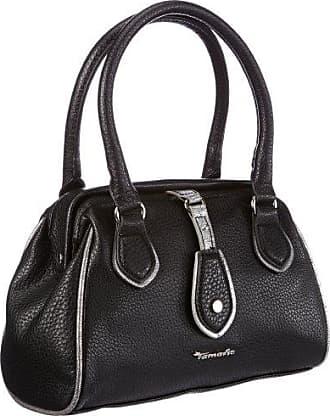 Damen Lenita Handbag Henkeltaschen, Schwarz (Black Comb 098), 27x30x9 cm Tamaris