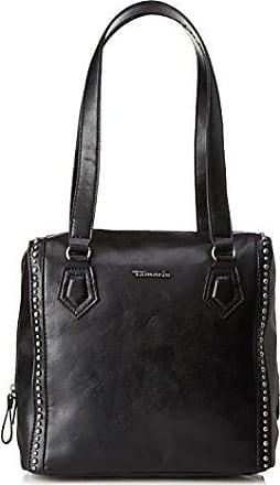 Tiana 1074161-001 Damen Henkeltaschen 34x28x8 cm (B x H x T), Schwarz (Black 001) Tamaris