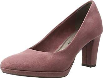 22493, Zapatos de Tacón para Mujer, Negro (Black Matt 020), 41 EU Tamaris
