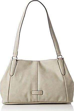 AMAL Damen Handtasche, Shoulder Bag, Schultertasche, 34x22x15 cm (B x H x T), 4 Farben: grey, rose, coral oder blau, Farbe:rose comb Tamaris