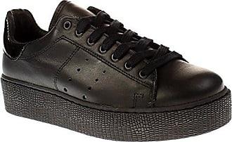 Emma 13-A - Damen Schuhe Sneaker - 100-black, Größe:39 EU Tango