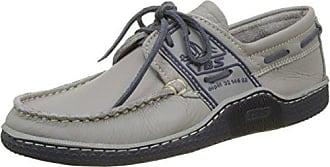 Phenis-E8, Chaussures Bateau Homme, Bleu (Marine + Marron + Blanc), 42 EUTBS