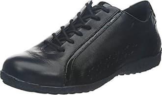 TBS TechnisyntheseYakari - Zapatos de Cordones Hombre, Negro (Negro), 43