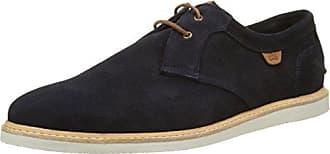 Dune Preppy, Zapatos de Cordones Brogue para Hombre, Rojo (Burgundy Burgundy), 44 EU