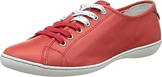 Jessica, Derby Femme, Multicolore (Red), 36Padders
