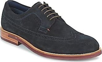 Delanis, Scarpe Stringate Derby Uomo, Marrone (Dark Tan Navy Sole), 41 EU Ted Baker