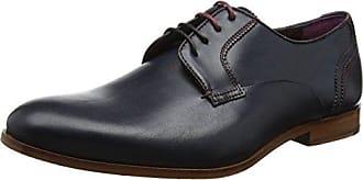 Sioux Dimitar-xl, Derby Chaussures À Lacets Pour Les Hommes, Bleu (atlantique), 42 2/3 Ue