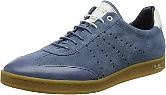 Kiefer Text Am DK Blue, Basses Homme - Bleu (Dark Blue), 42 EU (8 UK)Ted Baker
