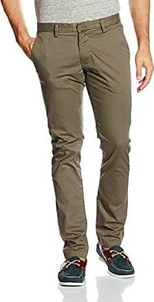 P55 Chino, Pantalones para Hombre, Marrón (Kelp 250), 30W/34L Original Penguin