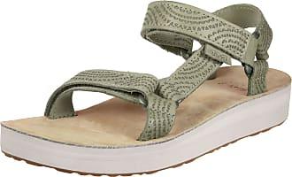 Teva - Women's Midform Universal Geometric - Sandales taille 8, brun/beige