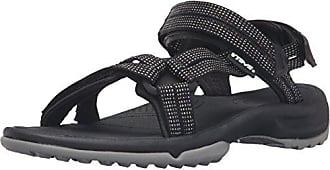 Teva Terra FI Lite Leather Schwarz, Damen Sandale, Größe EU 40 - Farbe Black Damen Sandale, Black, Größe 40 - Schwarz