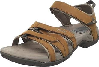 Teva Olowahu Leather W's 8740 Damen Zehentrenner, Beige (sand 945), EU 37 (UK 4) (US 6)