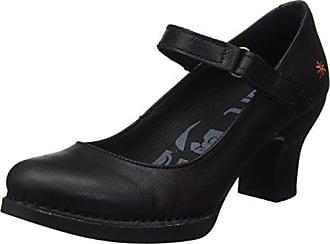 0933 Memphis Harlem, Zapatos de Tacón con Punta Cerrada para Mujer, Negro (Black Antracita), 38 EU Art