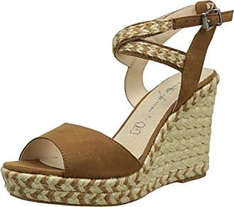 The Divine Factory Chiara, Tongs Femmes, (Camel), 40 EU