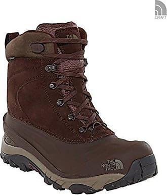 The North Face Back-to-Berkeley Redux Leather, Chaussures de Randonnée Hautes Homme, Marron (Dijon Brown/Tagumi Brown 5Wd), 45 EU
