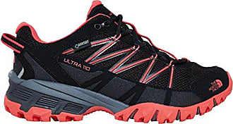 The North Face Damen W Ultra 110 GTX (Eu) Trekking-& Wanderhalbschuhe, Schwarz (TNF Black/Cayenne Red THS), 38 EU