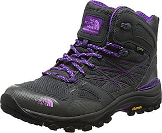 Mount Bona, Zapatos de High Rise Senderismo para Mujer, Gris (Grau/Türkis Grau/Türkis), 43 EU Brütting