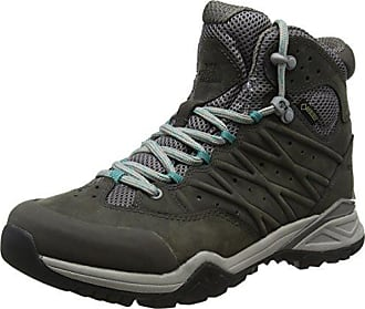The North Face Endurus Hike Mid Gore-Tex, Chaussures de Randonnée Hautes Homme, Gris (Phantom Grey/Arrowwood Yellow), 48 EU