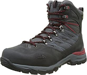 The North Face M HH Hike II MD GTX, Botas de Senderismo para Hombre, Marrón (Bone Brown/Rage Red 4Dc), 48 EU