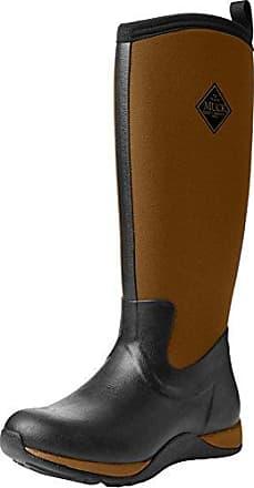 s Arctic Lace Mid, Botas de Agua para Mujer, Negro (Black/Charcoal), 38 EU The Original Muck Boot Company