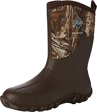 s Mens Muckster II Ankle, Botas de Agua para Hombre, Marrón (Bark/Otter), 47 EU The Original Muck Boot Company