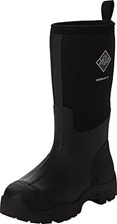 s Reign Tall - Escarpines para Mujer, Color Schwarz (Black/Hot Pink), Talla 37 The Original Muck Boot Company