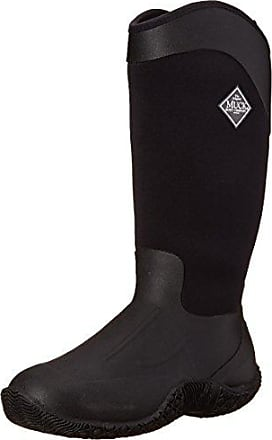 Reign Tall, Stivali da Donna, Nero(Schwarz (Black/Hot Pink)), 41 The Original Muck Boot Company