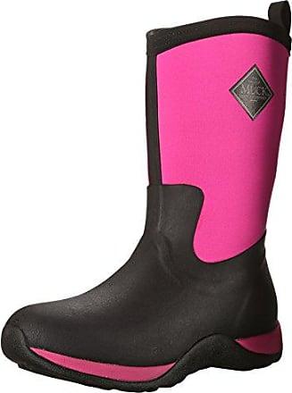 s Hale - Botas para Mujer, Negro (Negro/Hot Pink), 41.5 The Original Muck Boot Company