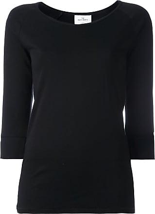 T-Shirt mit Dreiviertelärmeln - Schwarz The White Briefs