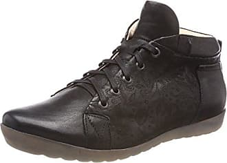 Seas_282977, Sneaker a Collo Alto Donna, Nero (Sz/Kombi 09), 41.5 EU Think