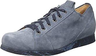 Think Kong_282657, Zapatos de Cordones Brogue para Hombre, Azul (Navy/Kombi 88), 43.5 EU