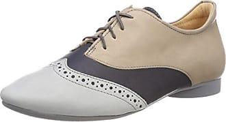 Guad_282283 Penser, Chaussures Richelieu Des Femmes Des Laceup, Bleu (lagune / Kombi 79), 39,5 Eu